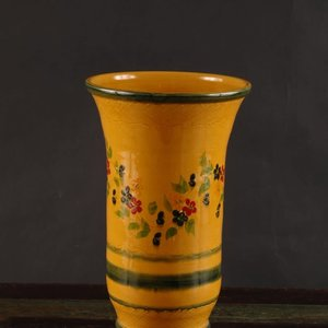 French Made Vase tall slender SOULEO PROVENCE