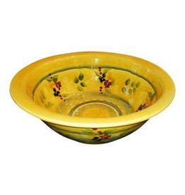 French Made Bowl rimmed soup/pasta SOULEO PROVENCE