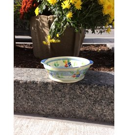 French Made Bowl individual handled blue SOULEO PROVENCE