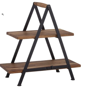 David Shaw Tableware Fine Foods 2-Tier Serving Stand