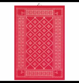 EKELUND/HOUDE Tea Towel Ekelund ATTEBLADROSE 330  50x70 cm