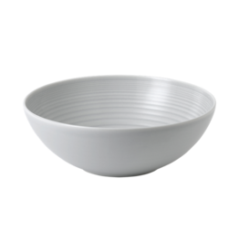 Royal Doulton MAZE Serving Bowl 25 cm Light Grey  GORDON RAMSAY