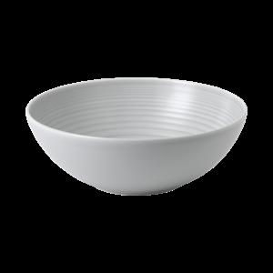 Royal Doulton MAZE Serving Bowl 25 cm Light Grey  GORDON RAMSAY