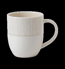Royal Doulton Mug Taupe Stripe ELLEN DEGENERES