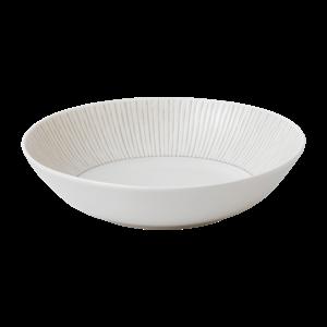 Royal Doulton ELLEN DEGENERES Pasta Bowl Taupe Stripe