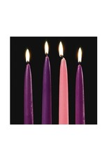 """IHR ADVENT CANDLE 10 x .75""""/ SET OF 4"""