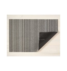 "Chilewich Big Mat SKINNY STRIPE SHAG Birch 36"" X 60"""