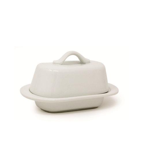 BIA Butter dish mini white covered BIA