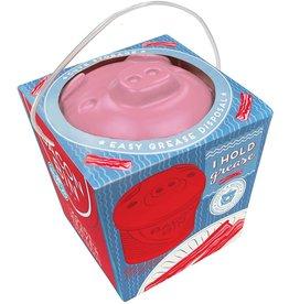 Harold Import Company Bacon Bin grease holder PIGGY
