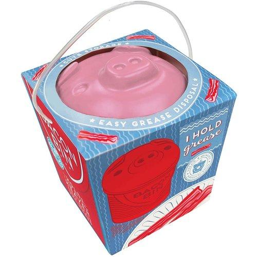 TALISMAN DESIGNS Bacon Bin grease holder PIGGY