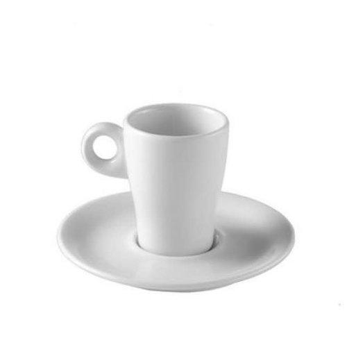PILLIVUYT PILLIVUYT Espresso Cup/Saucer FLUTO