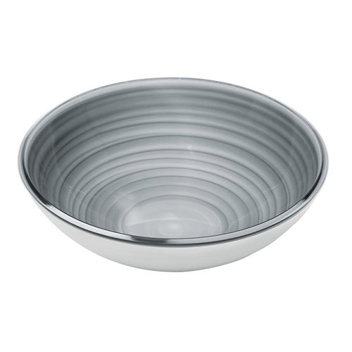 GUZZINI Bowl TWIST Large Sky Grey - GUZZINI