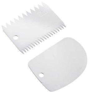 Westmark WESTMARK Dough scraper with decorating comb
