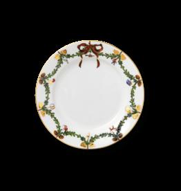 "ROYAL COPENHAGEN  CHINA Star Fluted Christmas  Salad Plate 8.75"" ROYAL COPENHAGEN"