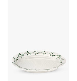 "Sophie Conran SOPHIE Mistletoe Oval Platter 14.75x12"""
