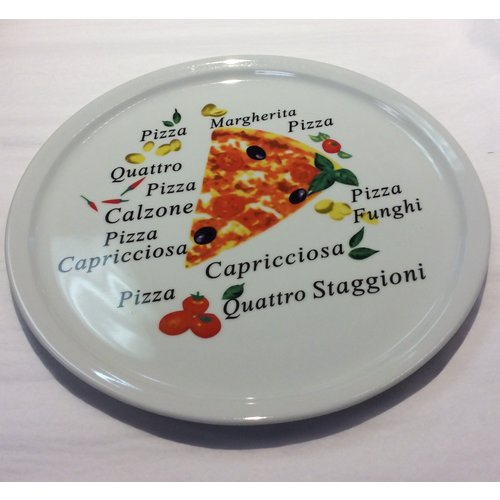 Carol's Nicetys Authentic Pizza Plate 30cm