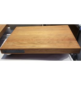 "Carol's Nicetys Cherry Wood Footed Cutting Board 17""x12""x1.5"""