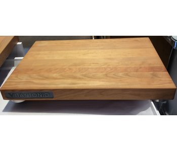 "Cherry Wood Footed Cutting Board 17""x12""x1.5"""
