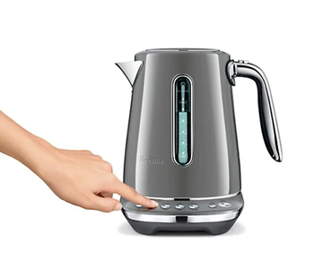 """Electric Kettle """"SMART KETTLE LUXE"""" Smoked Hickory BREVILLE"""