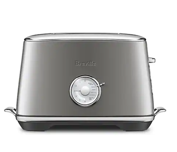 """TOASTER 2-Slice TOAST SELECT """"Smoked Hickory"""" BREVILLE"""