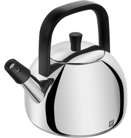 Henckel Kettle whistling HENCKEL S/S black handle 1.6L