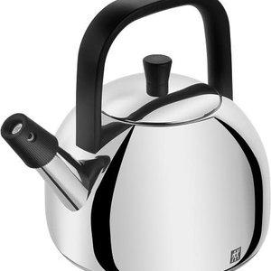 Henckel Kettle whistling HENCKEL Stainless Steel black handle 1.6L