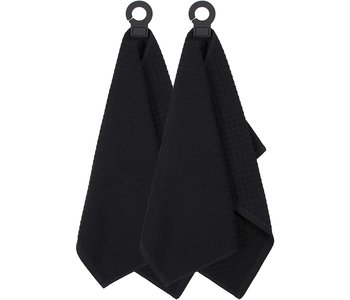 HOOK & HANG TOWEL BLACK