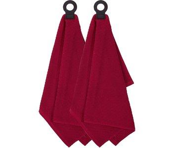 HOOK & HANG TOWEL PAPRIKA RED