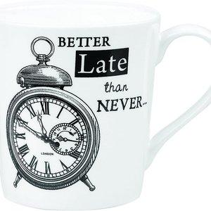 JL Bradshaw MUG Queens Alarm Clock