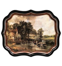JL Bradshaw Gallery Palace Tray -Constable's Hay Wain