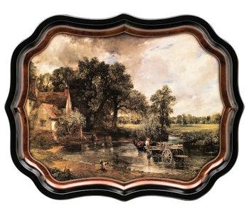Gallery Palace Tray -Constable's Hay Wain