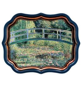 JL Bradshaw Gallery Palace Tray - Monet's Water Lillies