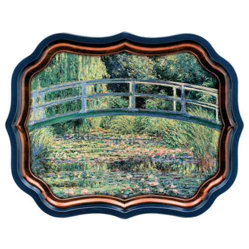 JL Bradshaw Gallery Palace Tray - Monet's Water Lillies