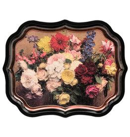 JL Bradshaw Gallery Palace Tray - Flowers