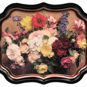 JL Bradshaw Gallery Palace Tray - Flowers