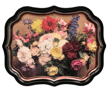 Gallery Palace Tray - Flowers