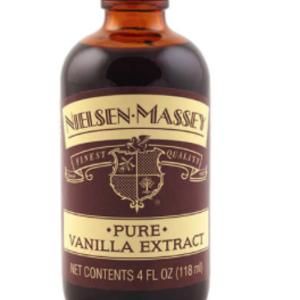 NIELSEN-MASSEY PURE VANILLA EXTRACT 4 0Z. NEILSEN-MASSEY  Not Origin Specific