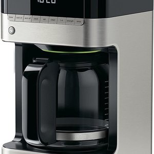 Braun BRAUN 12-CUP DIGITAL COFFEE MAKER Black & Stainless