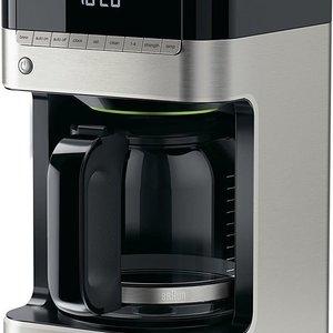 DELONGHI BRAUN 12-CUP DIGITAL COFFEE MAKER Black & Stainless