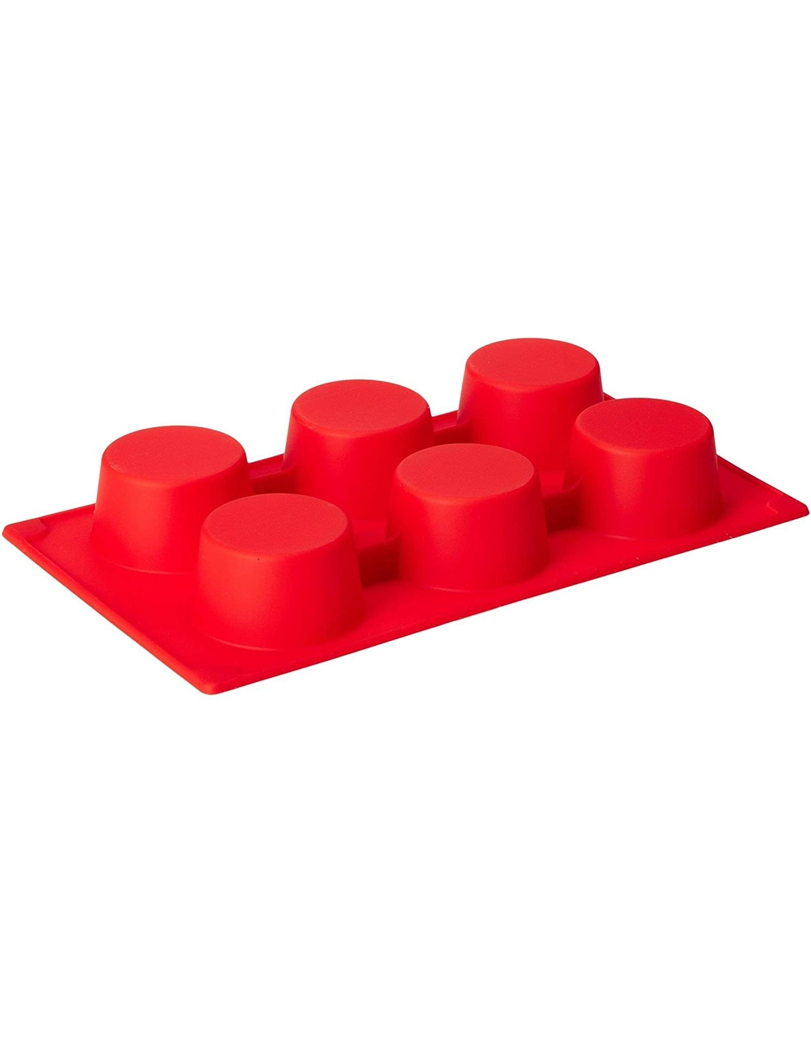 ICM LEKUE MUFFIN MOLD -6 - RED