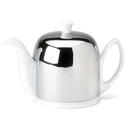 Guy DeGrenne SALAM White Tea Pot - 6 cup