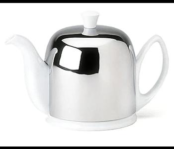 SALAM White Teapot - 6 cup GUY DEGRENNE FRANCE