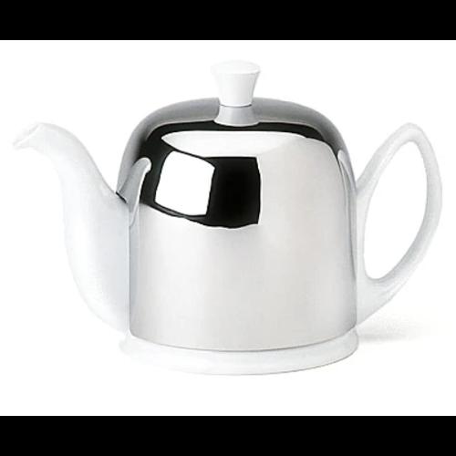 Guy DeGrenne SALAM White Teapot - 6 cup GUY DEGRENNE FRANCE