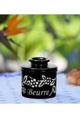 Fox Run Butter Keeper Noir FLEUR DE PROVENCE
