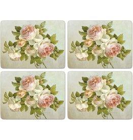 Pimpernel Placemats Antique Roses Set/4