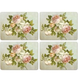 Royal Selangor Portmeirion Placemats Antique Roses Set/4