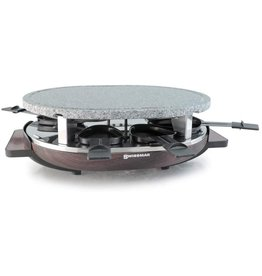Raclette MATTERHORN 8 person with Stone Grill Top
