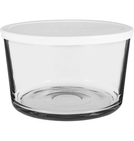 Anchor Hocking Bowl with Lid GLASS USA 3L