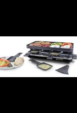 Swissmar Raclette VALAIS Matte Black 8 person - PARTY GRILL