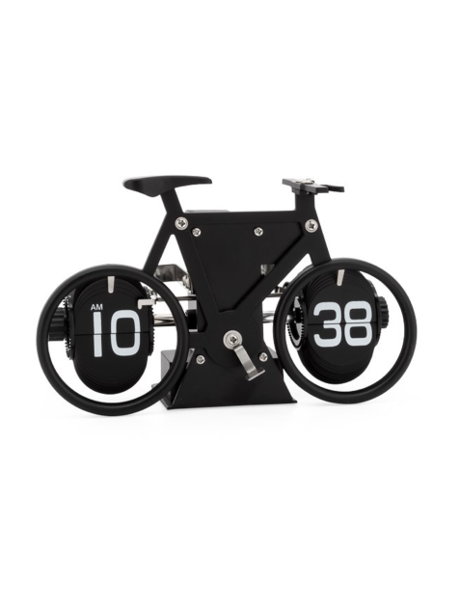 Torre & Tagus Retro Bicycle Flip Motion Clock